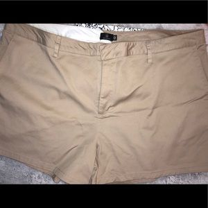 Volcom Shorts - New Volcom Frochickie Tan Trouser Chino Shorts